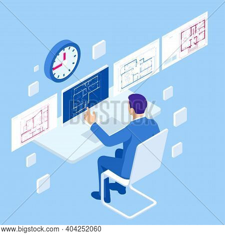 Isometric Construction Project Management, Architectural Project Planning, Development And Approval