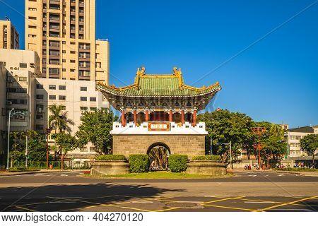 Secondary Southern Gate, Aka Chongxi Gate, Of Old Taipei City. Translation: Chongxi Gate.