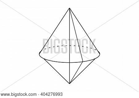 Piramid Infographic Presentation 3d Illustration Design Volumetric Geometric Figure Isolated On A Wh