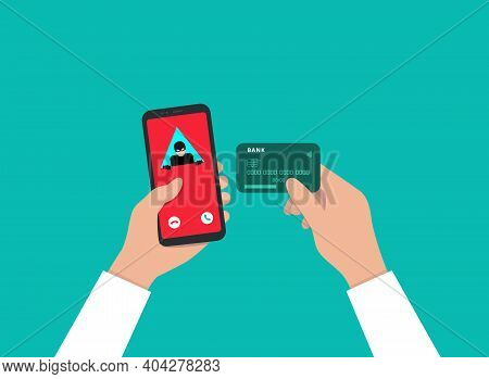 A Call From A Fraudster To A Smartphone. An Insecure Connection. A Hacker Who Steals Bank Card Data.