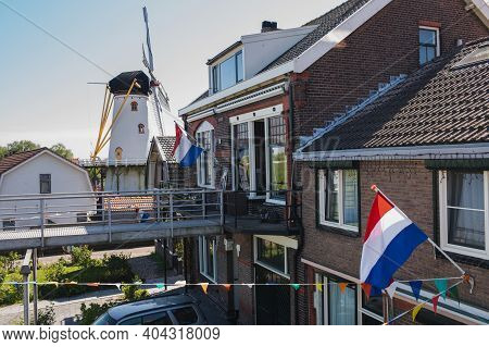 Liberation Day Is A Public Holiday In The Netherlands Celebrated Each Year On 5 May. Wemeldinge, Old