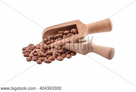 Pinto Beans An Isolated On White Background