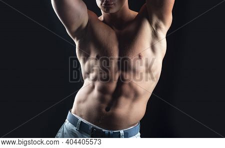 Nude Man Torso. Sexy Naked Gay. Bare Abs Guy. Sexual Muscular Male. Homosexual, Pride, Lgbtq Lgbt