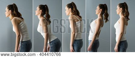 Before After Abdominal Body Posture Training And Back Pain