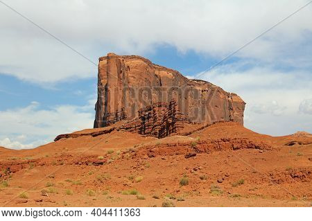 Rock Formation In Monument Valley In Arizona. Usa