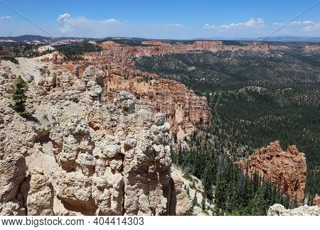 Rock Formation In Bryce Canyon National Park. Utah. Usa