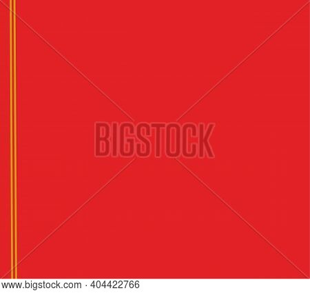 Red Background Chinese Style Art Gold Boarder Frame Element. Chinese New Year And Valentine's Day.