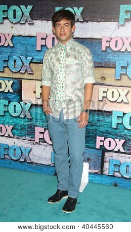 LOS ANGELES - JUL 23:  Kevin McHale arriving to FOX All-Star Party 2012  on July 23, 2012 in West Hollywood, CA