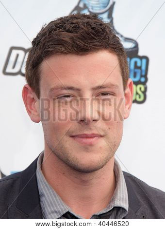 LOS ANGELES - AUG 18:  Cory Monteith arriving to Do Something Awards 2012  on August 18, 2012 in Santa Monica, CA