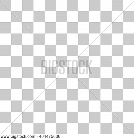 Grey And White Vector Grid. Seamless Background Template. Checkered Gray Square Pattern Icon. Backdr