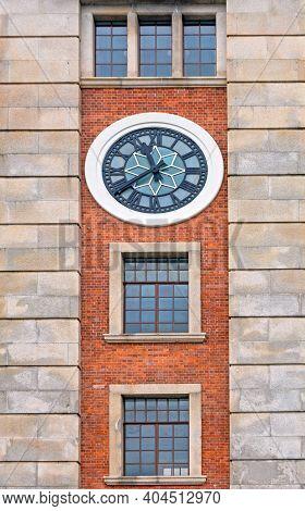 Former Kowloon Canton Railway Clock Tower Hong Kong