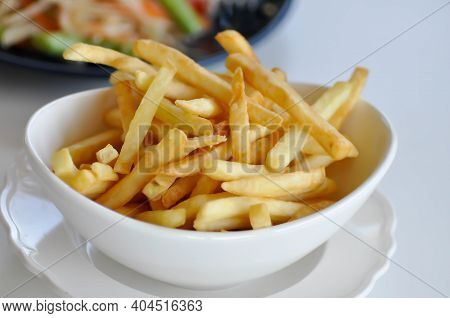 Fries , French Fries Or Fried Potato Dish