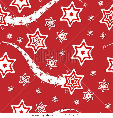 Christmas wrapping paper or background illustration