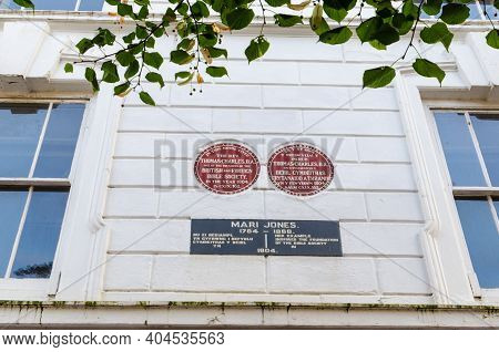 Bala; Uk: Sep 20, 2020: A Permanently Closed Branch Of Barclays Bank On The High Street. It Was Once
