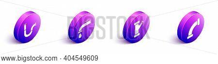 Set Isometric Industry Metallic Pipe, Water Tap, Industry Metallic Pipe And Industry Metallic Pipe I