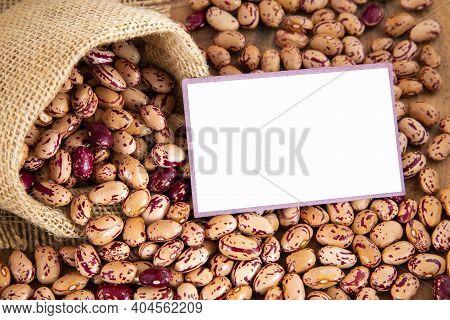 Raw Organic Pinto Beans - Phaseolus Vulgaris