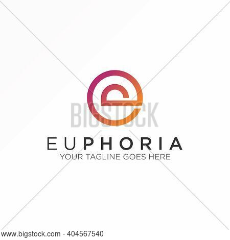 E Or P Logo. Letter E Or P Design. Abstract Concept. Can Be Used As A Symbol Related To Initial.