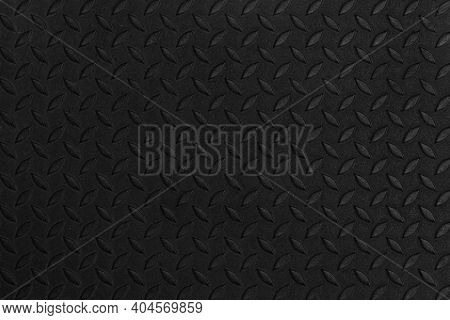 Black Diamond Steel Plate Floor Pattern And Seamless Background