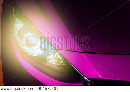 Car Headlight, Reflection Technology, Led System, Travel, Use, Chrome, Reflection, Reflection
