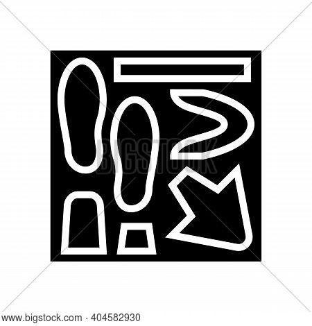 Shoe Making Model Glyph Icon Vector. Shoe Making Model Sign. Isolated Contour Symbol Black Illustrat