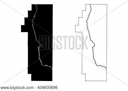 Pend Oreille County, State Of Washington (u.s. County, United States Of America, Usa, U.s., Us) Map