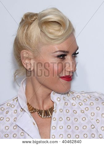 """LOS ANGELES - DEC 8:  Gwen Stefani """"In The Land of Blood and Honey"""" Los Angeles Premiere  on December 08, 2011 in Hollywood, CA"""