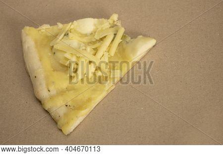 Pizza 4 Cheese, Homemade, Cheese Pizza With Mozzarella, Dorblu, Blue Cheese.