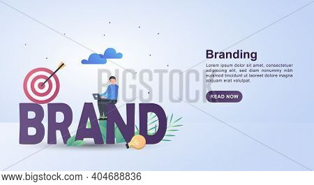 Vector Illustration A Businessperson Accounting Design. Usable For Banner, Poster, Background, Web,