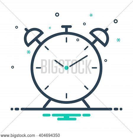 Mix Icon For Alarm Clock Alarmclock Alert