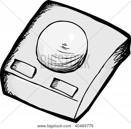 Vintage Computer Trackball