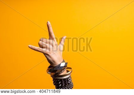 Hand Gestures. Thumbs Up, Thats A Cool Gesture Of The Rocker.