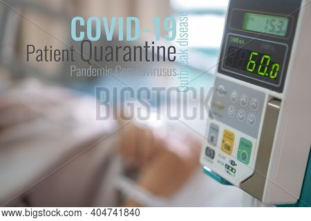 Pandemic Coronavirus Patient Hospital Quarantine, Isolation Covid-19 Acute Respiratory Disease Outbr