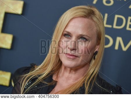 LOS ANGELES - JAN 05:  Actress Patricia Arquette arrives for Showtime Golden Globe Nominee Celebration Premiere on January 05, 2019 in West Hollywood, CA