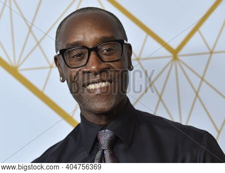 LOS ANGELES - SEP 21:  Don Cheadle arrives for Showtime Celebrates Emmy Eve on September 21, 2019 in West Hollywood, CA