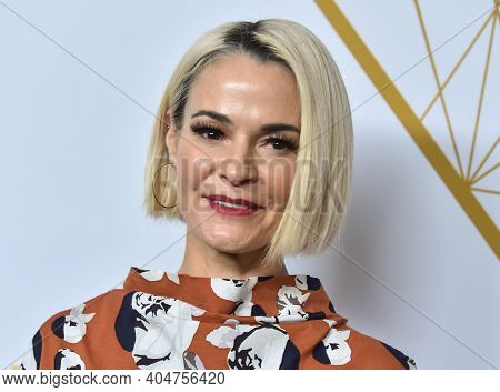 LOS ANGELES - SEP 21:  Leisha Hailey arrives for Showtime Celebrates Emmy Eve on September 21, 2019 in West Hollywood, CA