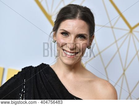 LOS ANGELES - SEP 21:  Sarah Levy arrives for Showtime Celebrates Emmy Eve on September 21, 2019 in West Hollywood, CA