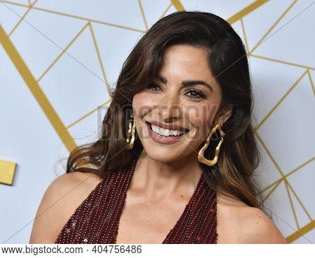 LOS ANGELES - SEP 21:  Sarah Shahi arrives for Showtime Celebrates Emmy Eve on September 21, 2019 in West Hollywood, CA