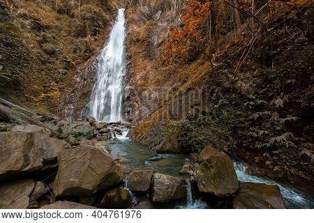 Beautiful Waterfall In Thailand Khun Korn Waterfall