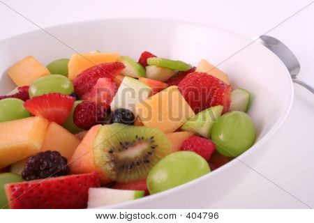 Fruit Salad Close Up