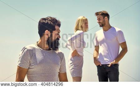 Forever Alone. Family Psychology. Envy Them. Third Wheel Concept. Relationship Goals. Break Up. Love