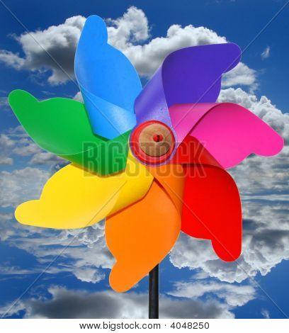 plastic windmill