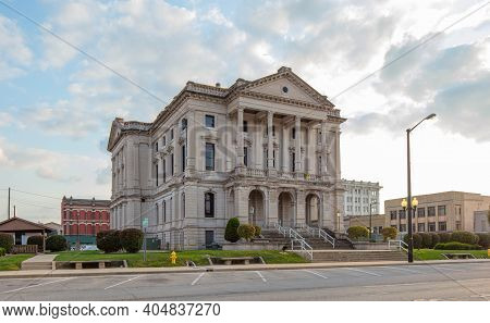 The Grant County Court House, In The City Of Marion, Indiana, Usa