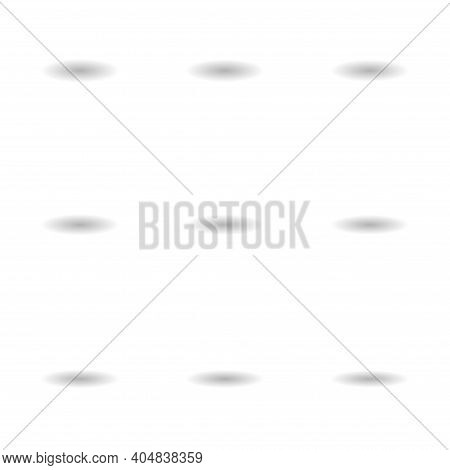 Set Of Shadow Effect Web Design Icon, Collection Of Savor Transparent Template Vector Illustration S