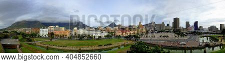 Cape Town, South Africa - 29 Apr 2012: The View On The Center Of Cape Town, South Africa