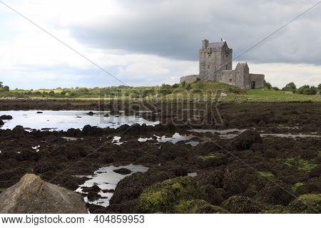 Kinvara (ireland), - July 20, 2016: Dungaire Castle, Galway Bay, County Galway, Ireland