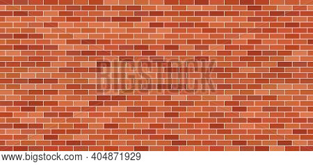 Brick Wall. Brick Background. Red And Brown Texture. Old Brickwork. Pattern Of Building With Stone A