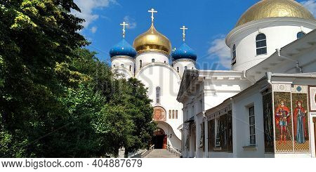 Odessa, Ukraine - June 25, 2019: This Is A Temple In Honor Of The Life-giving Source Icon In The Ort