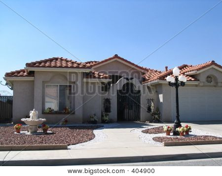 Palm Springs Tract Home