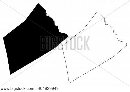 Clay County, State Of West Virginia (u.s. County, United States Of America, Usa, U.s., Us) Map Vecto