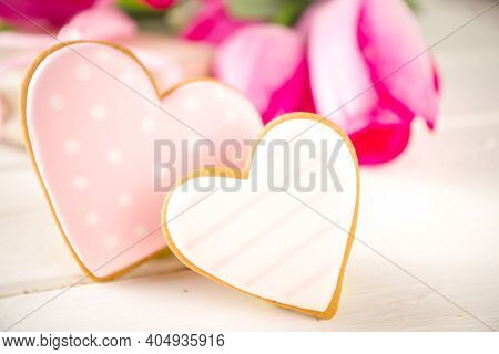 Spring And Valentine Day Background